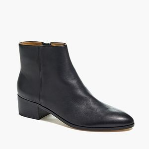 🆕J. Crew Walker ankle boots in black leather